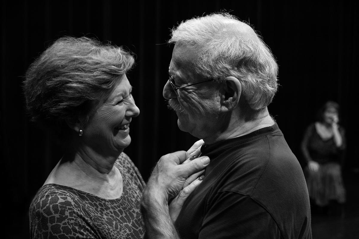 Gouden Dans - 1e productie in Amsterdam, Doelenzaal en Theater De Meervaart
