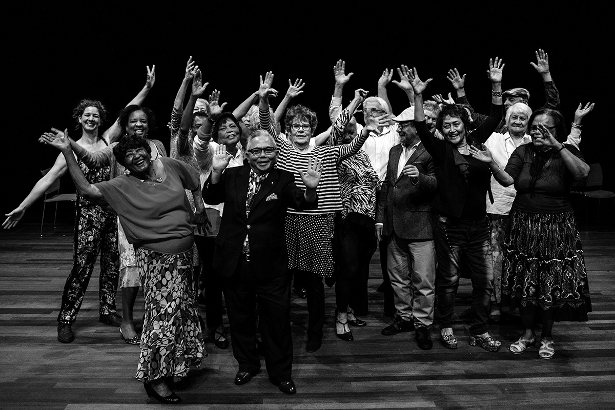 Gouden Dans - 4e productie in Amsterdam, Bijlmerparktheater