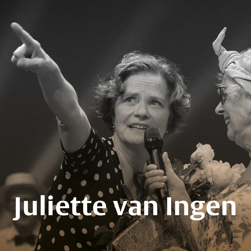 Gouden Dans docent Juliette van Ingen